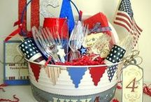 4th of July Inspirations / Red, white and blue inspiration for your 4th of July party. / by Funsational