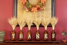 Fall Decor / Crafty ideas for celebrating a new season!