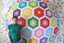 Quilting - Hexies / Hexie quilts