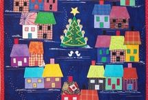 Quilting - Houses / House quilts