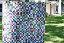 Quilting - Postage Stamp Quilts / Postage stamp quilts