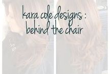 Kara Cole Designs : Behind the Chair / My work as a stylist and color specialist at Echo Salon Grand Rapids MI... On-site wedding hair and make up call 616.742.9980