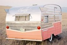 Vintage Trailers + Campers / Vintage trailer love! All sorts of great old trailers, campers and caravans.