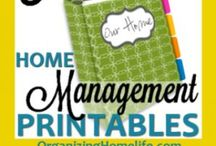 Organize - Planning & Printables / Lists, binders, and more to organize & plan your life with purpose!