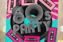 80s Theme Party / Party like it's 1989! Or any year in the 80s. Perfect for a 30th birthday or 30th class reunion...since the 80s were 30 years ago! / by Funsational
