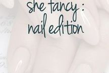 She Fancy : Nail Edition / Nail art and color goals