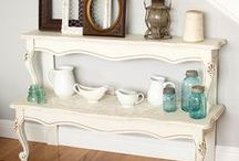 Repurpose - Shelving / by Kimberly Sutor