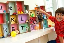Learning Letters / by Kate @ LaughingKidsLearn