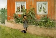 Carl Larsson paintings