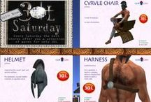 30L Saturday / 30L Saturday is a is Weekly event mainstore based that offer several RP/Fantasy items for 25L each, for more info check their blog: http://30levents.wordpress.com/