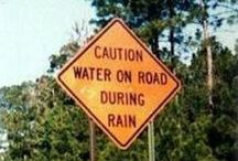 Signs to make you laugh