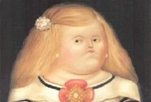 """Sculptor Fernando Botero / Fernando Botero Angulo is a figurative artist and sculptor from Medellín, Colombia. His signature style, also known as """"Boterismo"""", depicts people and figures in large, exaggerated volume"""