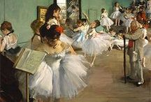 Painter Edgar Degas / Edgar Degas; born Hilaire-Germain-Edgar De Gas; was a French artist famous for his paintings, sculptures, prints, and drawings. He is especially identified with the subject of dance; more than half of his works depict dancers.