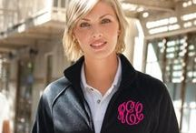 Monogrammed Outerwear / Stay warm and preppy this fall with our complete collection of monogrammed jackets, monogrammed fleece pullovers, monogrammed vests and monogrammed sweatshirts.