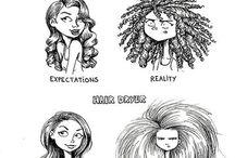 Ooh the hair / Our self