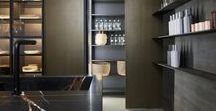 Almacenaje Cocinas / Módulos ocultos, optimización del espacio, funcionalidad y diseño aplicados al diseño de la cocina.