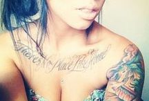 Body art / Tat's I want. Some of these are just beautiful I had to pin. / by TammyLynn