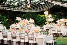 Weddings  | Reception / Rustic, formal, beach, indoors, garden and so many more options and ideas / by Vision Weddings & Events