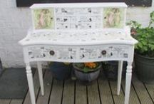 Furniture Makeovers / DIY's, chalk painted furniture and make overs.  We have excellent Dixie Belle Chalk Paints at www.decoupagedesignsusa.com for all your furniture makeovers / re-purpose projects.