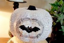 Autumn & Halloween Projects / Decoupage and crafting autumn and halloween decor