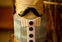 Groom's Cakes / Can you and your fiance not decide on a wedding cake? Try having 2 smaller cakes at your wedding- A Bride's cake and a Groom's Cake! We guarantee you and your future hubby will both be ecstatic and your guests will get a kick out of it! Shop Now at amalfidecor.com