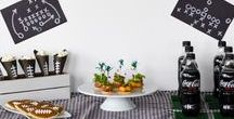 Superbowl/Football Party Ideas / It's Superbowl time! Get inspired for your football party. Amalfi Decor has great items you can use for a snack or dessert table this Superbowl. Check out our DIY Superbowl/Football party favorites now!