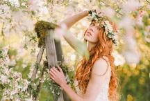garden/outdoor wedding