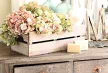 Shabby chic   Emmajanedesign / So very playful with vintage and retro gems, paired back with organic materials paired, pastels and neutrals.
