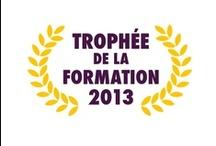 Trophée de la formation 2013 / Remise du Trophée de la formation 2013 pour les formations en Réseaux sociaux et e-réputation