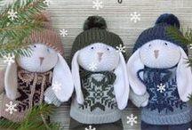 My knitting (моё вязание) / toys, clothing, home furnishings