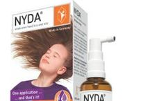 Head Lice Treatment - NYDA® / NYDA is a safe and effective product for anti-lice hair treatment in India. Get Freedom From Head Lice and their Eggs by using a non-greasy lotion with a light citrus fragrance. You apply it to scalp and hair with the pump spray supplied with the bottle.