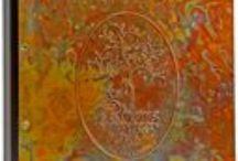 Copper Menu Covers / More than 50 unique Copper Patinas available
