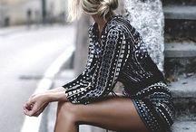 Fashionista. / When I go shopping.