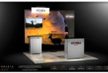 10x10 trade show displays ,booths, exhibits. / Exponents manufacturers high quality linear trade show exhibits for spaces ranging from 10x10 to 10x30. These exhibits, booths and displays are easy to Install, Light in weight and reconfigurable
