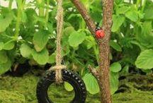 Fairy garden / Great ideas for our fairy gardens