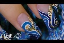 Nail Art Tutorials / Learn how to create some amazing Nail Art designs with exclusive professional products!
