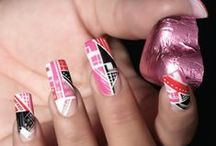 Sweet Cupcakes Nail Art / Candy, candy, candy! Sticky and sweet themed Nail Art based on yummy sweets and chocolates!