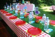 Peppa Pig Picnic / Decoração de Festas / Party Decor