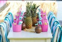 Hawai / Decoração de Festas Hawai, Verão / Party Decor Summer