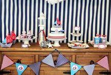 Nautico / Decoração de Festas / Party Decor Navy