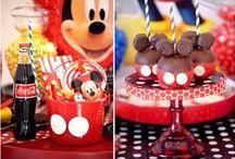 Mickey / Decoração de Festas / Party Decor Mickey Mouse