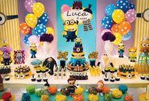 Minions / Decoração de Festas / Party Decor Minions