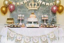 Princesas / Decoração de Festas / Party Decor Princess