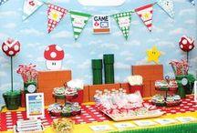 Super Mario / Decoração de Festas / Party Decor