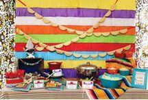Festa Mexicana / Decoração de Festas / Party Decor Mexican / Cinco de Maio