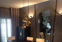 Luxury interiors / Hand made furniture with brass and ebony