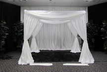 Chuppah / Rebekah's wedding