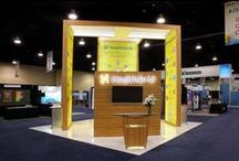 20x20 Trade Show rental booths- Live Show Images / This Board carries live show images of 20x20 trade show rental booths designed and fabricated by exponents