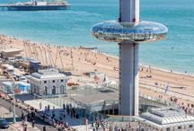 Brighton, England / Travel information and tips for visiting Brighton on the south coast of England