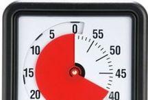 ⛳ Time Timer / El Time Timer hace el tiempo visual ayudando a la comprensión de la hora y del trascurso del tiempo.